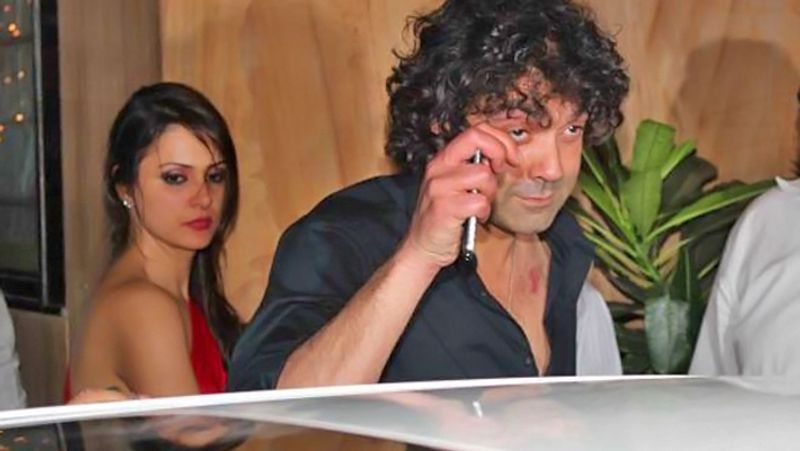 Bollywood actor Bobby Deol