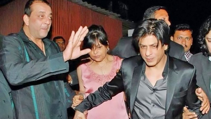 Sharukh Khan and Sanjay Dutt