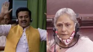 Ravi Kishan's befitting reply to Jaya Bachchan, said- I am the son of a Brahmin, I have come here without any support