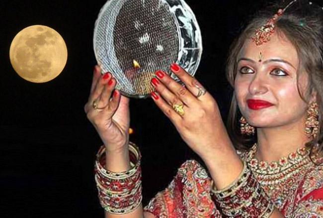 करवा चौथ पर चांद की पूजा क्यों करती है सुहागिन महिलाएं, जानिए शुभ मुहूर्त, पुजा विधि और कथा