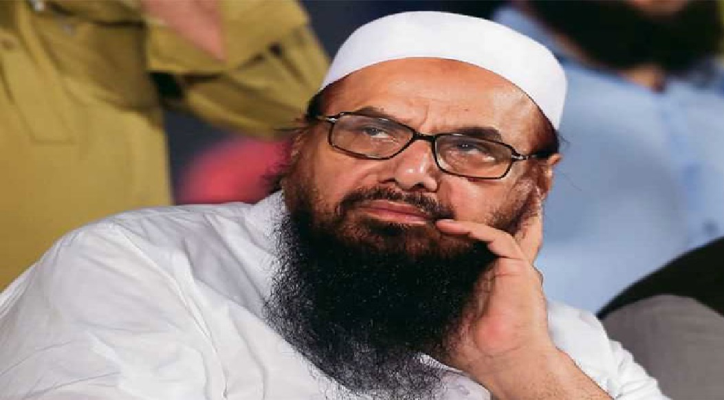Pakistan bowed in front of India, Hafiz Saeed gets 10-year sentence