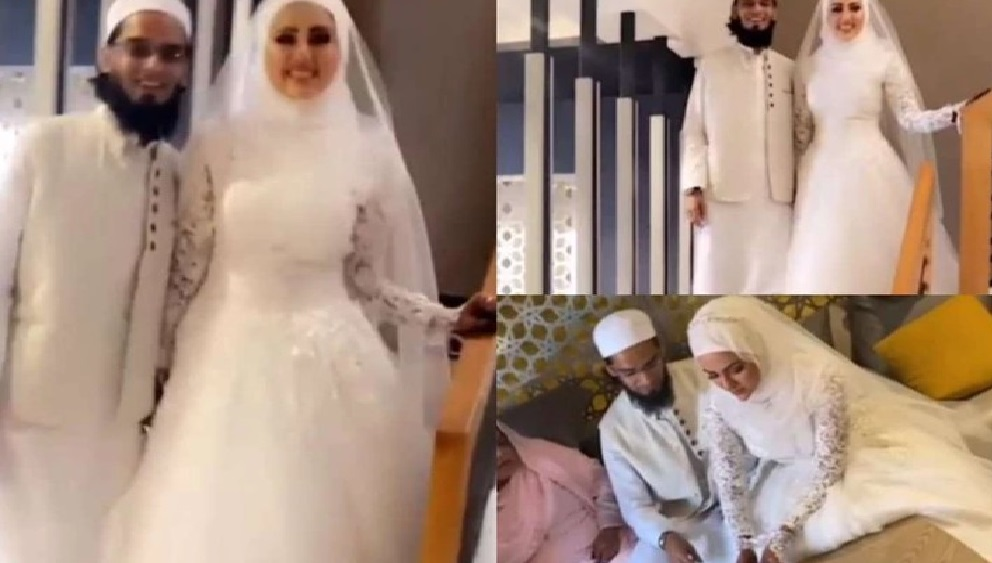 Sana Khan, after leaving acting, now married Maulana Mufti Anas, watch video